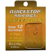 Drennan sweetcorn quickstop hair rigs