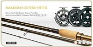 Hardy Marksman Supero rod and Centrepin offer