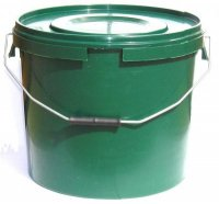 Tackleup Green Plastic Bait Buckets