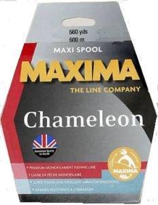 Maxima chameleon 600m bulk for Maxima fishing line