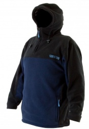 Preston hooded fleece top