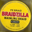 Braidzilla mainline super braid 6lb