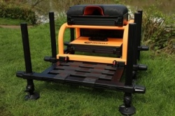 Guru Team seatbox-Black and Orange model