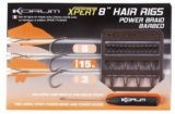 Korum Xpert power braid hair rigs