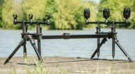 Leeda 3 rod pod plus carrycase
