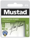 Mustad Power barbless hooks to nylon